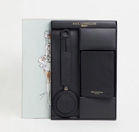 Paul Costelloe подарочный набор Обложка для паспорта и для чемодана