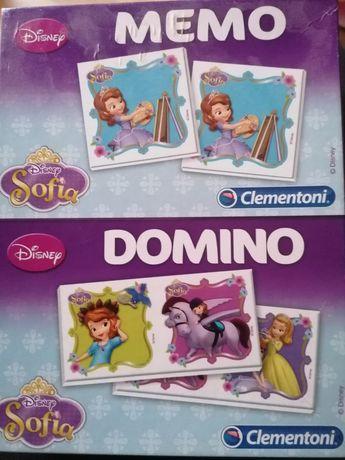 Księżniczka Zosia Clementoni memo domino