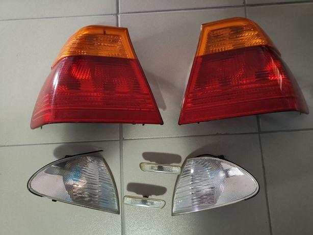 Faróis bmw e46 para carro