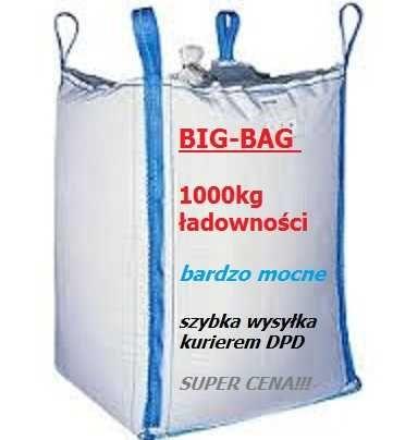 Worki big-bag po cukrze 93x93x140, stabilizator, Radziejów KUJ-POM