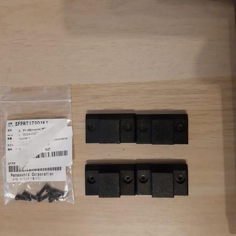 Technics SL-1210 MK2 mocowanie pokryw - komplet na 1 gramofon - części