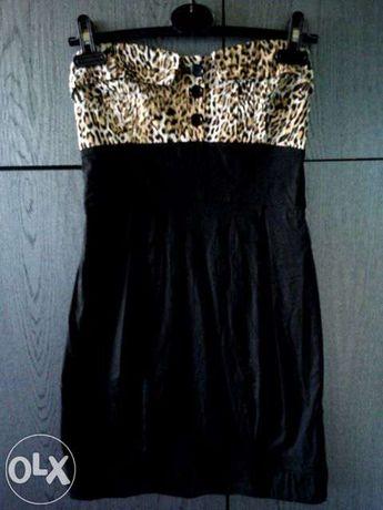 Sukienka gorsetowa panterka bombka Tally Weijl