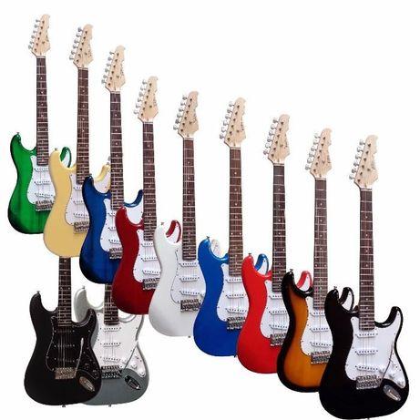 Conjunto guitarra elétrica MSA VISION ST5 + cabo de ligação - NOVO