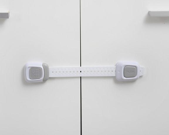 Набор универсальных замков 24,2 см, серые 3 шт Babyhood BH-604B