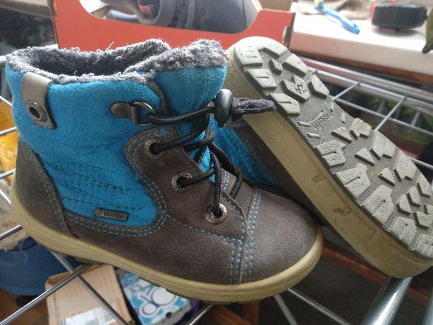 Сапоги ботинки superfit зима демисезон замш гортекс 15,5 см.