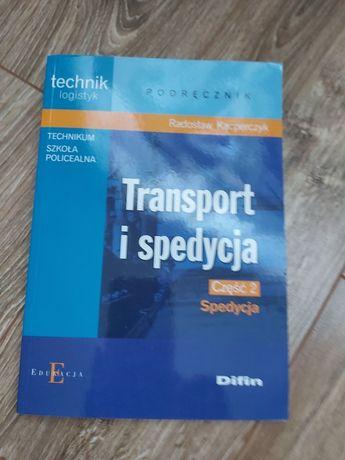 Sprzedam książkę transport i spedycja 2