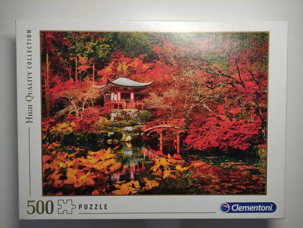 Puzzle Clementoni 500 Złota Jesień Orient  Dream 35035