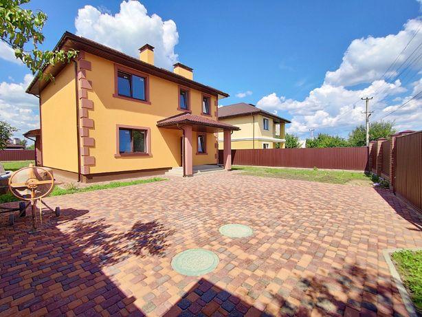 Готовый дом с максимальным наполнением и крытой террасой в Белогородке
