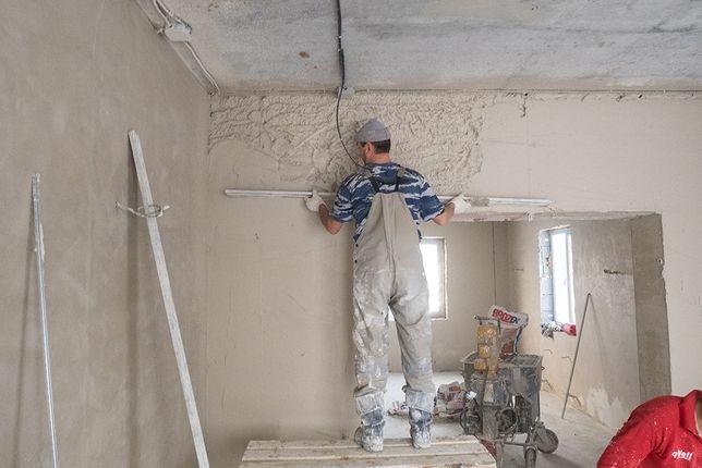 Штукатурка стін машинним способом!!!