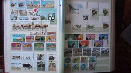 Почтовые марки. Фауна. Иностранные.