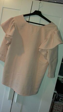 Elegancka bluzka z falbaną S/M