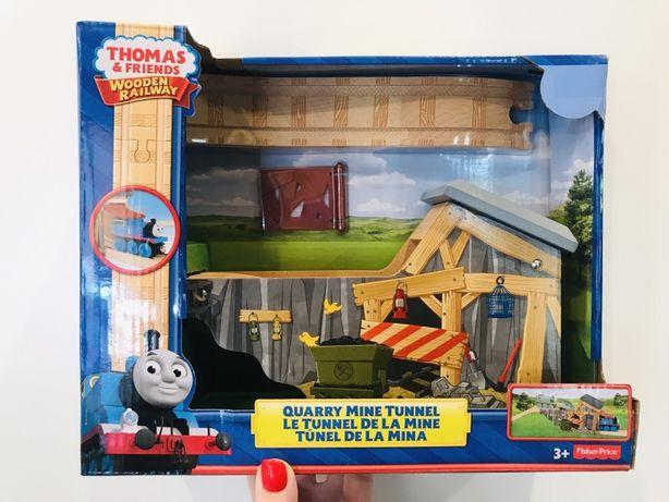 Игровой набор Tomas & friends fisher price деревянная железная дорога