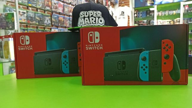 НОВЫЕ! Приставки, консоли Nintendo Switch Обновленная версия