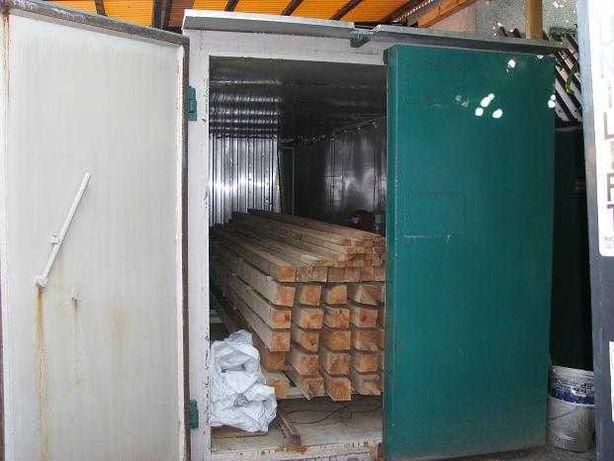 Suszarnia kontenerowa do drewna