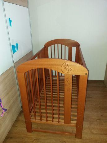 Sprzedam łóżeczko drewniane wymiary 120cm×60cm