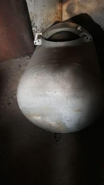Алюминиевый бак 600 литров