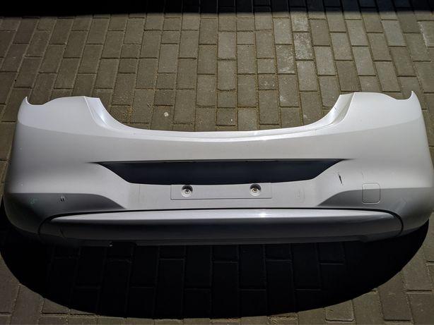 Zderzak tył Opel Corsa E biała perła