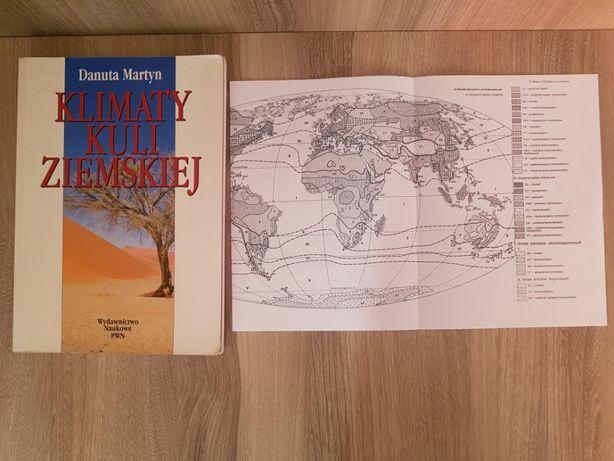 Martyn, Klimaty kuli ziemskiej + mapa, 2000