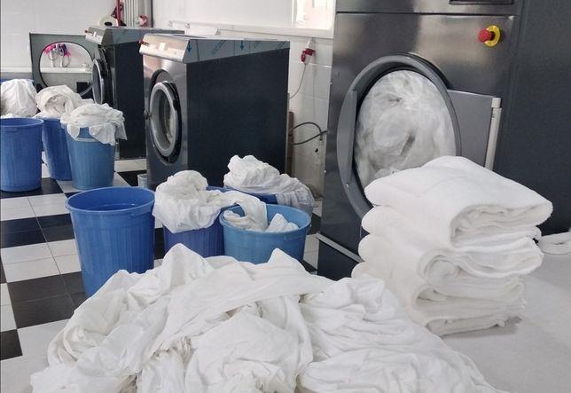 Lares clínicas máquina de lavar roupa industrial Self-service