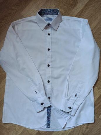 Рубашка на подростка, белая