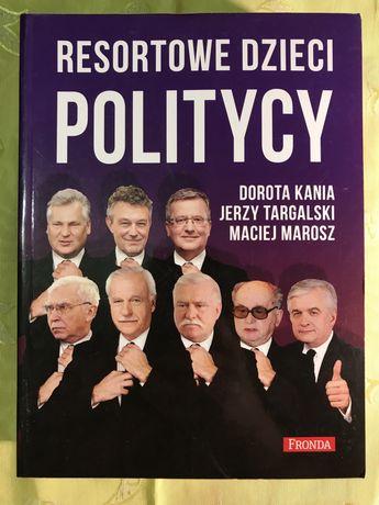 Książka bestseller Resortowe dzieci Politycy