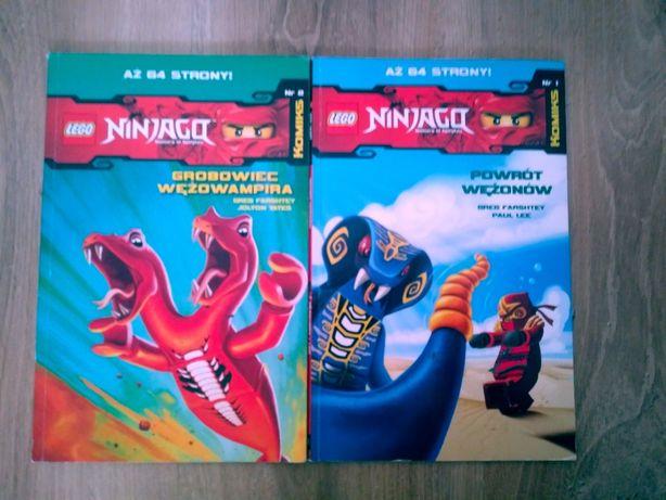 Lego Ninjago. Komiks. Powrót Wężonów.