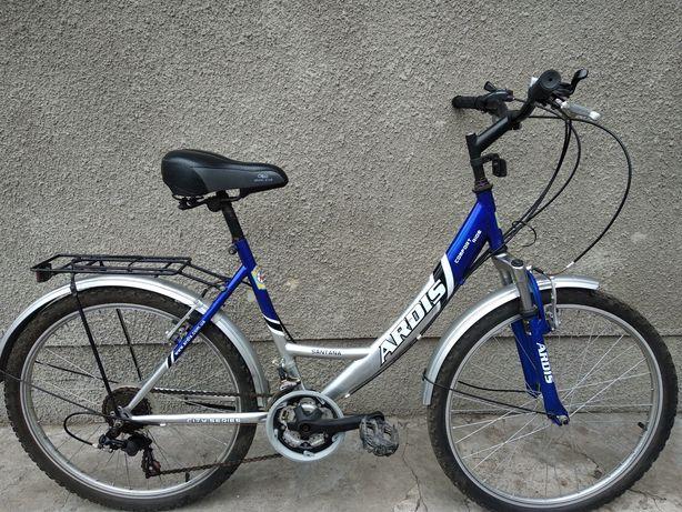 Велосипед из Германии Ardis. Перекидки Shimano