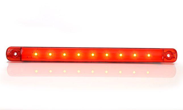 Lampa lampka obrysowa czerwona led ledowa dioda diodowa waś was