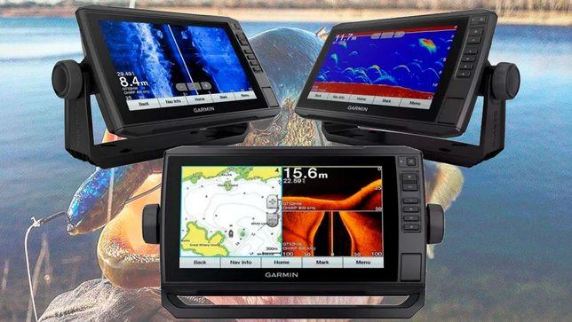 Garmin echoMAP 93SV UHD с GT54 Эхолот + Карты Украины