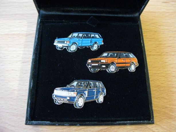Conjunto de PIN Range Rover A Celebration