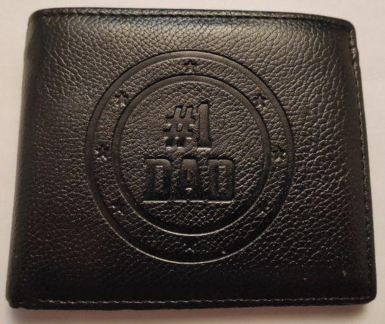 Skórzany portfel męski dla taty