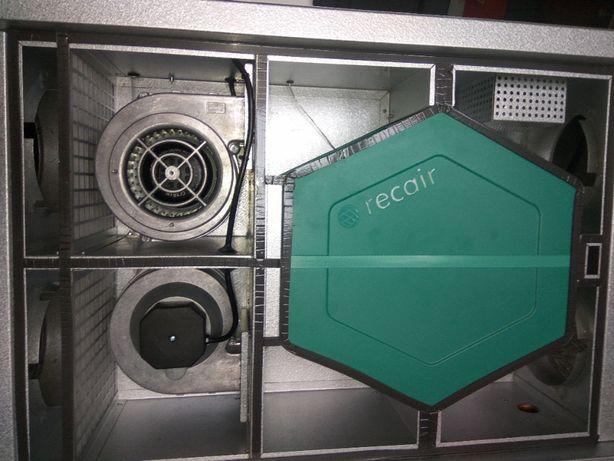 Centrala wentylacyjna mechaniczna wentylacja rekuperacja odzysk ciepła