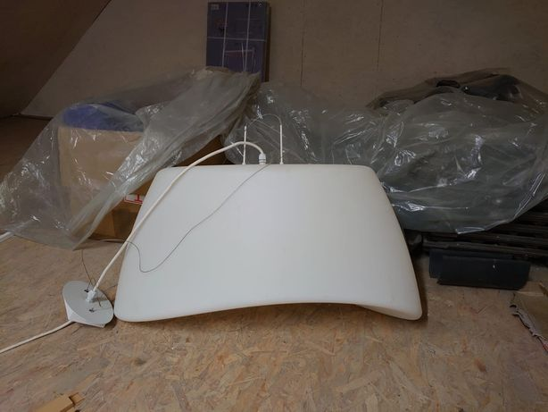 Lampa sufitowa XL biała