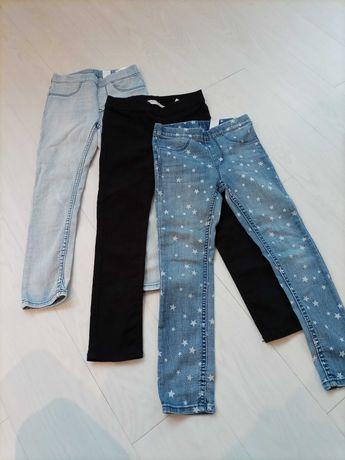 Spodnie h&m 116 stan idealny !!!