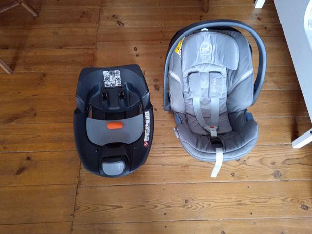 """Vendo cadeira de bebé (""""ovo"""") para automóvel com isofix"""