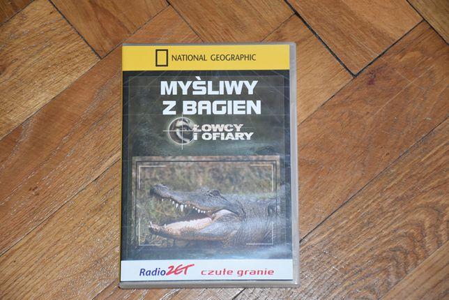 """Film przyrodniczy """"Myśliwy z bagien"""" DVD, National Geographic"""