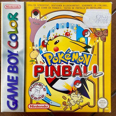 Pokemon Pinball [Original Gameboy Color/ Na Caixa]