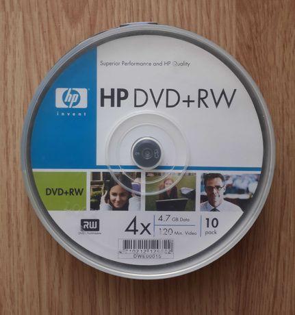 Płyty DVD+RW HP 4.7GB 4X CAKE 10 szt.