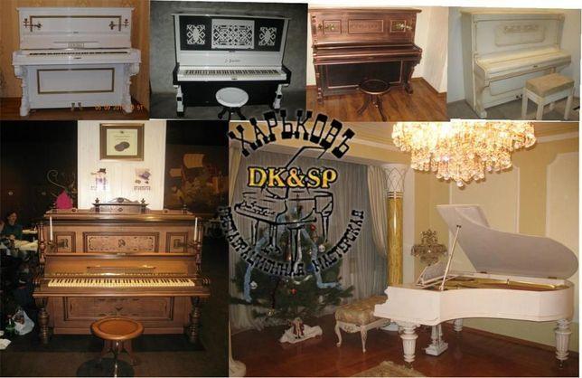 Продам пианино после реставрации или без