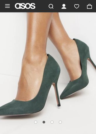 ASOS Туфлі з гострим носком 38 розмір