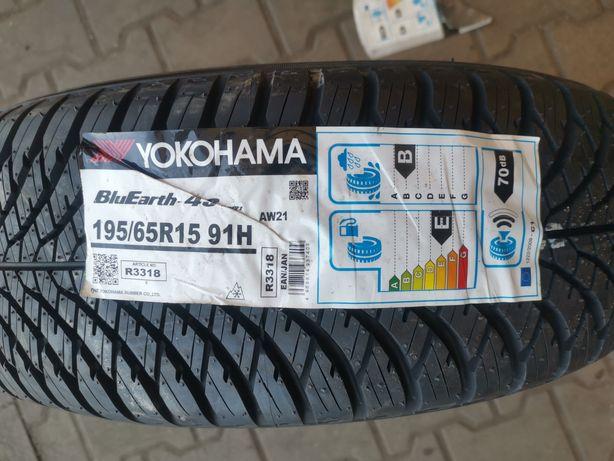 Yokohama BluEarth-4s 195/65r15 91H Wielosezonowe AW21 nowe