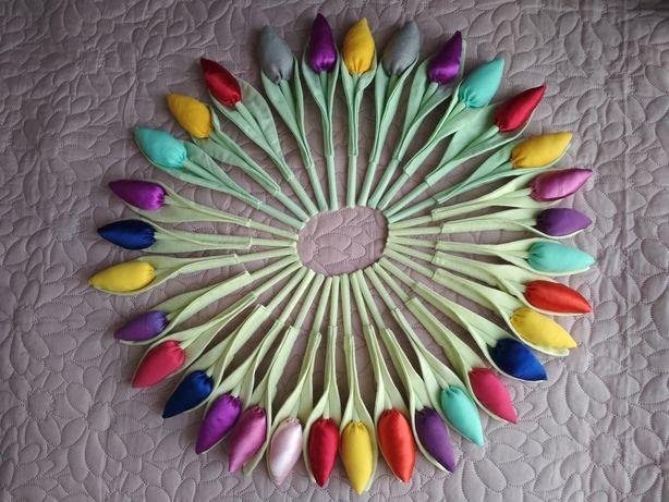 Sprzedam tulipany wszystkie kolory. Rękodzieło. Polecam