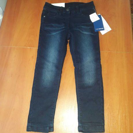 Nowe spodnie rozm 116 z bawelniana podszewka
