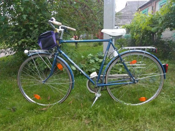 Немецкий велосипед на планитарке