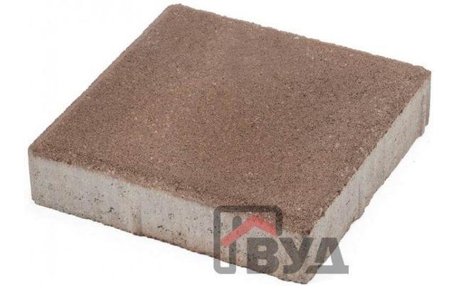 Тротуарная плитка Квадрат 100х100 мм, 200х200 мм