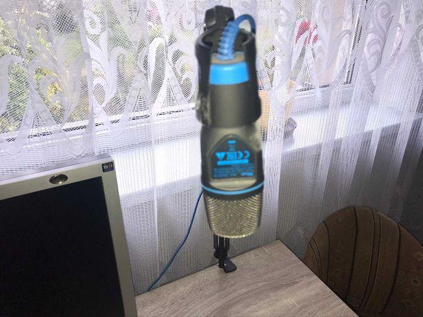 Mikrofon ze statywem