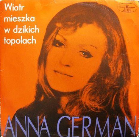 Płyta winylowa Anna German – Wiatr Mieszka W Dzikich Topolach
