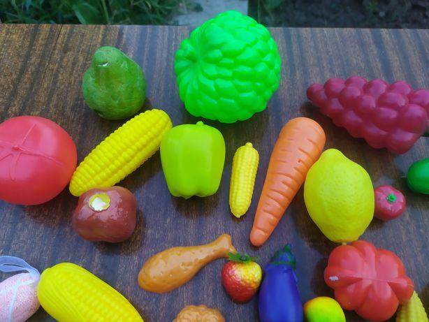 Детская овощи, фрукты.