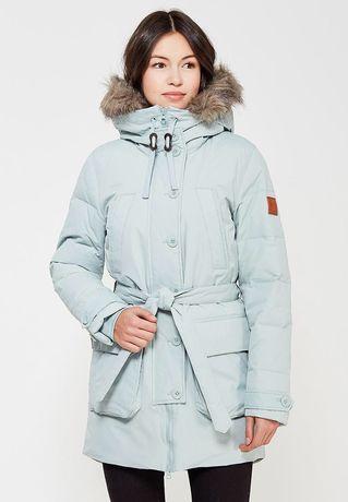 Зимний пуховик парка куртка reebok пух перо