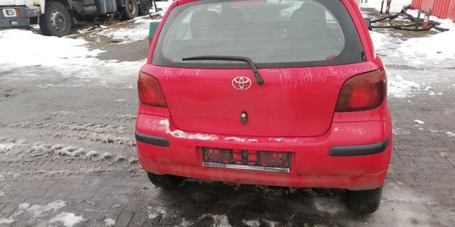 Toyota Yaris (I Generacja; FL). Cały na części (wszystkie części)
